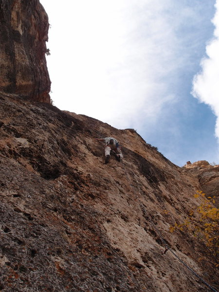 Rock Climbing Photo: Paul DeWitt on Douggie and Jimmy's Excellent Adven...
