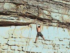 Rock Climbing Photo: Summersville Lake