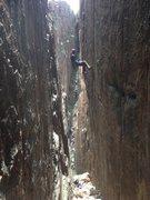 Rock Climbing Photo: Rap off