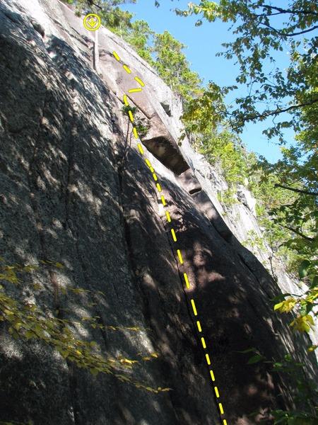Rock Climbing Photo: The Wiessner Corner