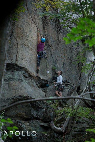 Rock Climbing Photo: Pinnacle Arete