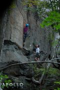 Rock Climbing Photo: Pinnacle Arete