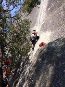 Rock Climbing Photo: Plug and chug