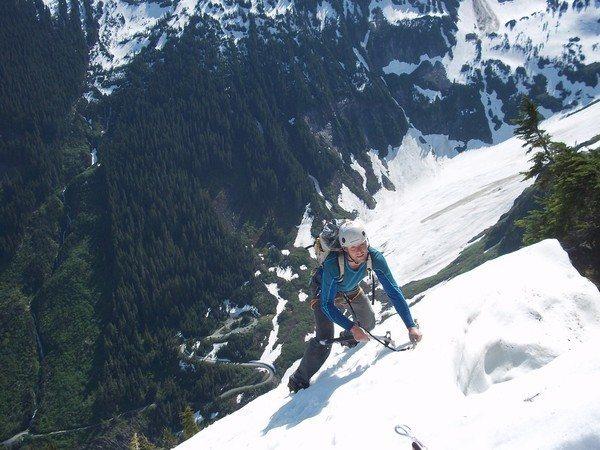 Rock Climbing Photo: Jens Holsten high up on J'berg