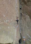 Rock Climbing Photo: Heinous Cling