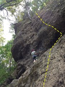 Rock Climbing Photo: Bottomed Out & Night Skies