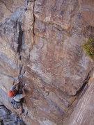 Rock Climbing Photo: SJ on I Don't Know .9