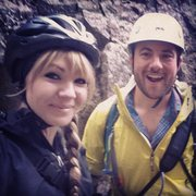 Rock Climbing Photo: Rained out; still smiling