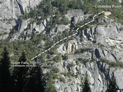 Rock Climbing Photo: Cragging below Columbia Point. Use caution if clim...