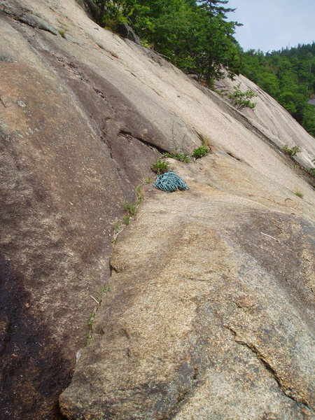 "Rock Climbing Photo: Rope on ""Launch Ledge"". Tree-island in  ..."
