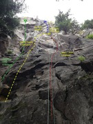 Rock Climbing Photo: Heavens wall