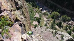 Rock Climbing Photo: Eldorado in the Fall- Climbers behind us on the fi...