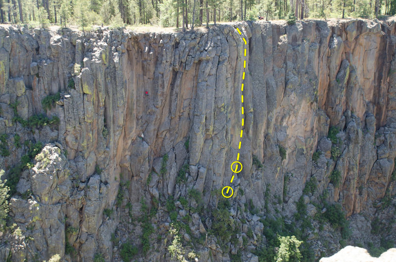 Rock Climbing Photo: Falconer