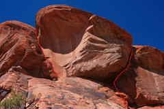 Rock Climbing Photo: Lean and Languid on the left, Fat and Hungry on th...