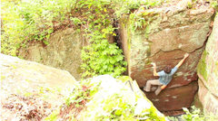 Rock Climbing Photo: Hitting the sidepull