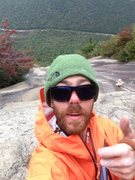 Rock Climbing Photo: On the top of pitch 7!!!