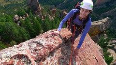 Rock Climbing Photo: High on Fo.