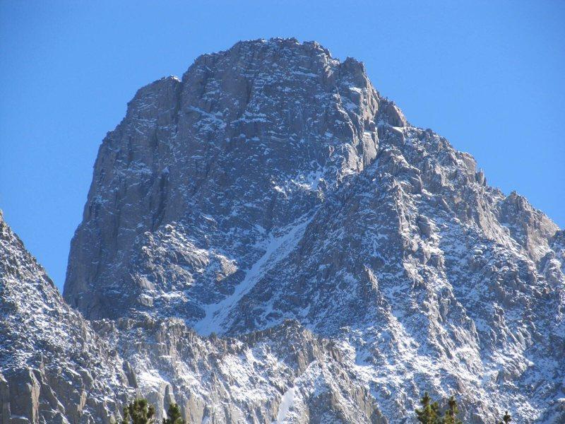 Rock Climbing Photo: Mt. Sill Swiss Arête