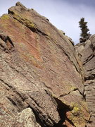 Rock Climbing Photo: Lots of variations all over this rock....