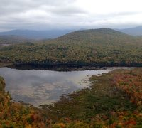 Rock Climbing Photo: Shell Pond from the High Meadow Wall aka the Main ...