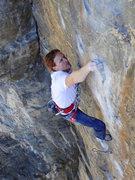 Rock Climbing Photo: Ten Digit Dialing.