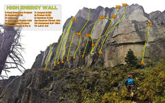 Rock Climbing Photo: Very much a work in progress. Additional anchors/r...