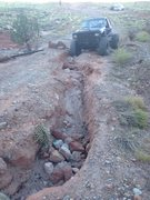 Rock Climbing Photo: I think the road has washed out a little since a t...