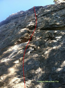 Rock Climbing Photo: Feature Attraction. It looks like choss but climbs...