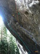 Rock Climbing Photo: A. Beam and Coke 12d B. Slice of Pie 12b C. Incont...