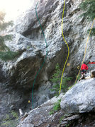 Rock Climbing Photo: A. the clam 12c/d B. piston bully 12b/c c. four de...