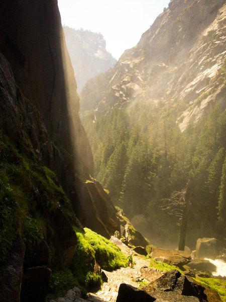 the mist trail, Yosemite