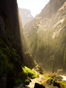 Rock Climbing Photo: the mist trail, Yosemite