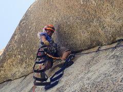 Rock Climbing Photo: South Face Washington Column