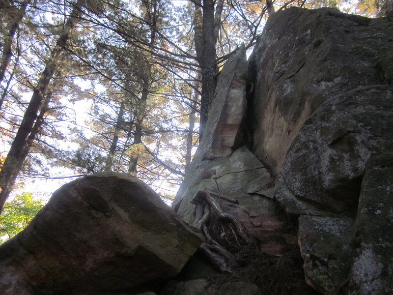 Rock Climbing Photo: More vandalism