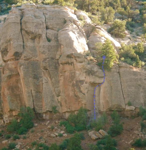 Rock Climbing Photo: Wolcott Great Roof.