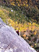 Rock Climbing Photo: Another of P3 (or P2 if you link them). Another gr...