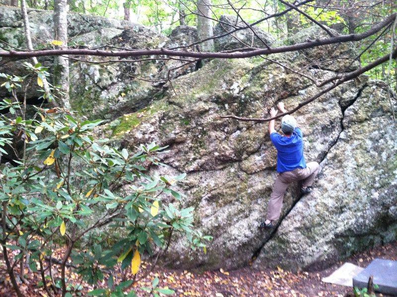 Rock Climbing Photo: warm up wall