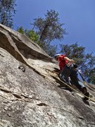 Rock Climbing Photo: Sport Lead at Rocky Face