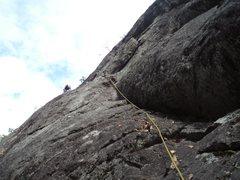 Rock Climbing Photo: Wasp Flake at Snake's Den