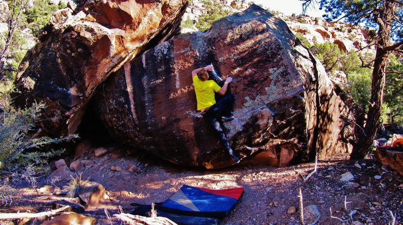 Rock Climbing Photo: At the gaston on Perennial Breath, from there it's...