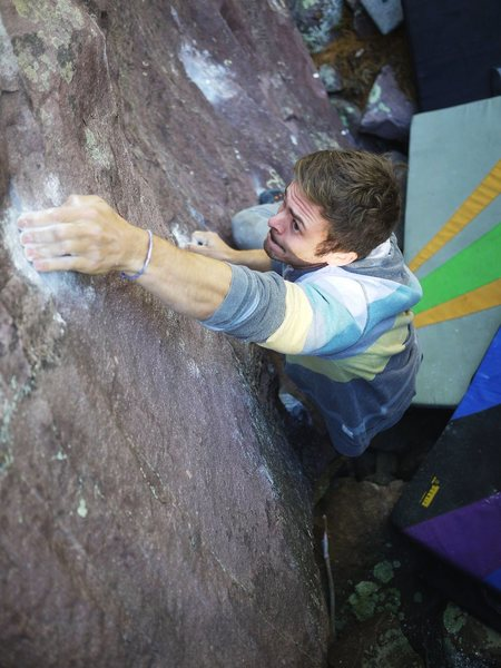 Rock Climbing Photo: Baker to the slimp