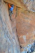 Rock Climbing Photo: Eric Hammer on Psycho Man