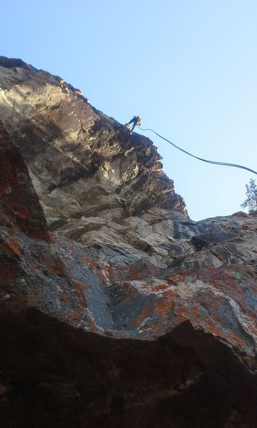 Rock Climbing Photo: Rappel from the top. Step off the edge and enjoy a...