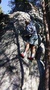 Rock Climbing Photo: False Tooth (V0)