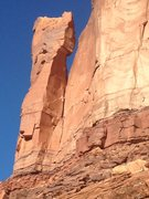 Rock Climbing Photo: Robitussin Tower from the approach.