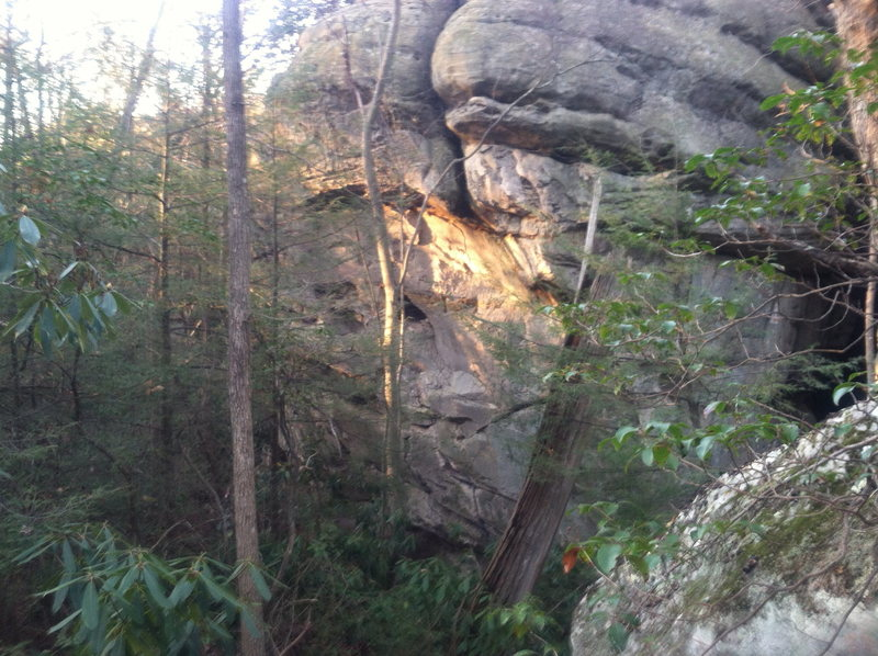 The steepness at The Lost World