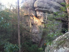 Rock Climbing Photo: The steepness at The Lost World