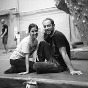 Rock Climbing Photo: Krista and I at TGV