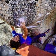 Rock Climbing Photo: Master Blaster V8
