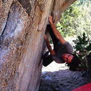 Rock Climbing Photo: Vanishing Point V9